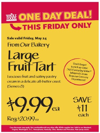 Post image for Whole Foods Virginia Beach Deals 5/24 – 5/27 (Good Meat Sales)