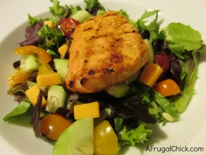 Post image for Spring Salmon Salad Recipe (And A Whole Foods Gift Card Give Away)