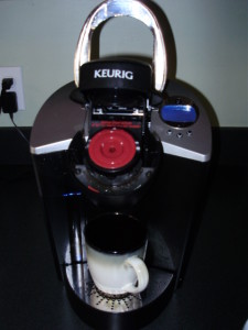 Solofill K-Cup in Machine