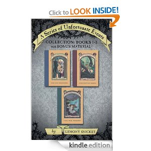 "Post image for Amazon Book Download: ""A Series Of Unfortunate Events""- ALL Three Books Only $2.99"