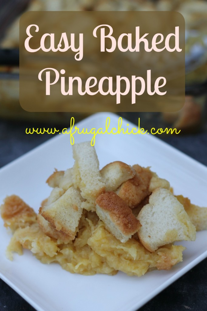 baked pineapple pinterest