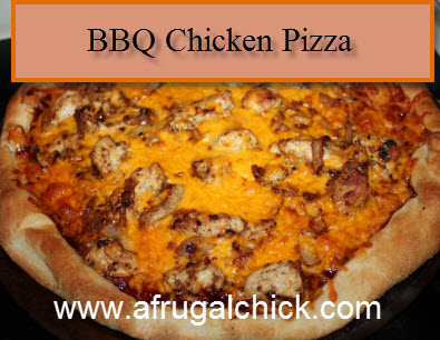Post image for Cooking For One: BBQ Chicken Pizza