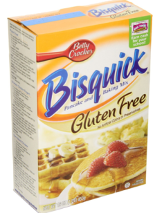 Post image for Amazon-Bisquick Pancake and Baking Mix, Gluten-Free, 16-Ounce Boxes (Pack of 3) Only $9.54