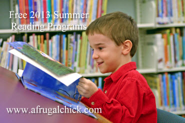 Post image for Free Nationwide Summer Reading Programs 2013