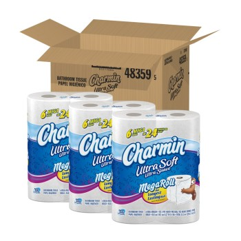 Post image for Amazon: Charmin Toilet Paper $.25 Per Regular Roll Shipped