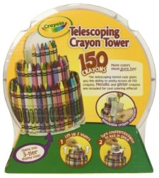 Post image for Amazon-Crayola 150-Count Telescoping Crayon Tower Only $14.99