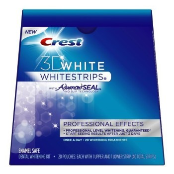 Post image for Amazon: Crest 3D White Whitestrips $.92 Per Use