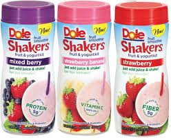 Post image for High Value Coupon:  $.75/1 Dole Fruit Smoothie Shakers