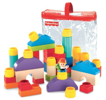 Post image for Amazon: Fisher-Price Little People Builders Classic Shapes Blocks $12.71