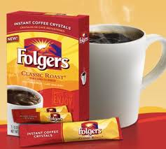 Post image for Free Folgers Coffee Singles Just About Every Where