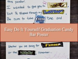 Graduation Candy Bar Poster (Easy To Make)