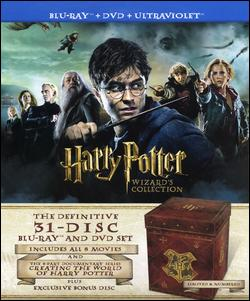 Post image for BestBuy.com Deal of the Day: Harry Potter Wizard's Collection [31 Discs] $199.99