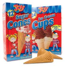 Post image for New Coupon:  $0.55 off Joy Ice Cream Cones