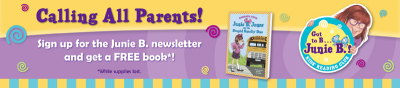 "Post image for FREE Junie B. Jones Book, ""The Stupid Smelly Bus Book!"""