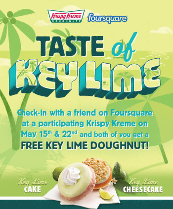 Post image for Free Krispy Kreme Key Lime Doughnut TODAY
