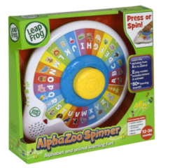 Post image for Amazon-LeapFrog AlphaZoo Spinner $16.49