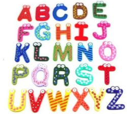 Post image for Amazon-Fun and Funky Colorful Magnetic Letters Only $2.65