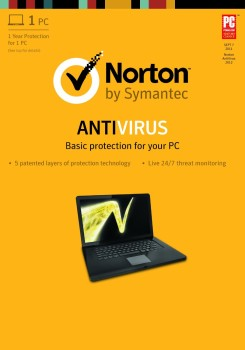 Post image for Amazon: Norton Anti-Virus Digital Download $13.79