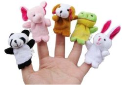 Post image for Amazon-10pcs Velvet Animal Style Finger Puppets Set $2.78