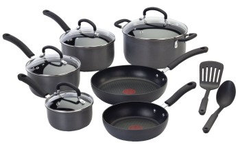 Post image for Amazon: T-Fal 12 Piece Cookware Set $79.99 (Save 60%)