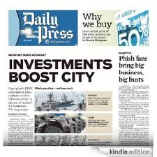 "Post image for Locals: ""The Daily Press"" Home Delivery (One Year $24)"