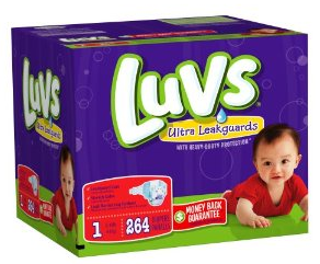Post image for Amazon-LUV's Ultra Leakguard $32.38 ($.12 Per Diaper)