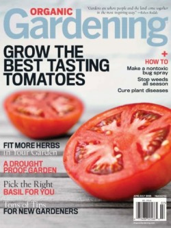 Post image for Today Only-Organic Gardening Magazine