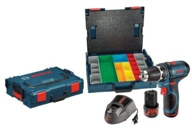 Post image for Father's Day Alert: Bosch 12-Volt Lithium-Ion 3/8-Inch Drill/Driver with 2 L-BOXX Cases, 2 Batteries and Charger $92.99