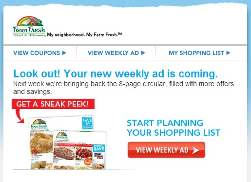 farm fresh weekly circular