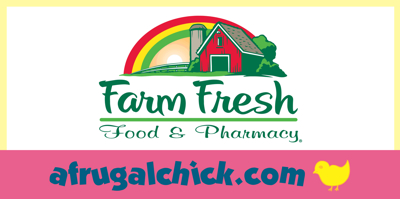 Post image for Farm Fresh Weekly Ad Coupon Match Ups 7/31 – 8/6