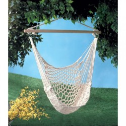 Post image for Amazon-Cotton Rope Hammock Cradle Chair $23.73