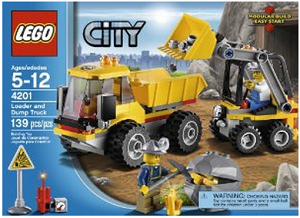 Post image for Amazon-Lego City 4201 Loader and Tipper $14.97