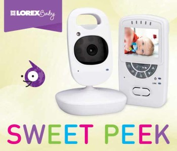 Post image for Lorex Sweet Peek Video Baby Monitor with IR Night Vision and Zoom $79.00 Shipped