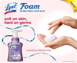 Post image for FREE Sample of Lysol Touch of Foam Soap (Select Areas)