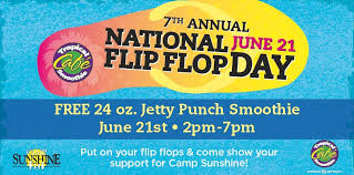 Post image for TODAY: National Flip Flop Day: Free Tropical Smoothie
