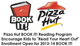 Post image for Pizza Hut Book It Program Open for 2013-2014 School Year