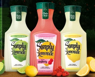 Post image for New Coupon: $0.75/1 Simply Lemonade (Deals As Low As $1)