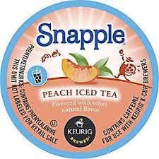 Post image for Snapple Iced Tea K-Cup Deal ($.54 Each at Harris Teeter)