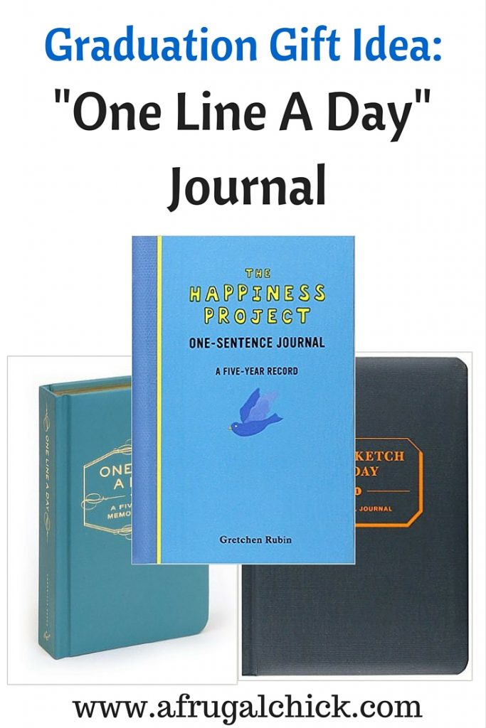 Graduation Gift Idea: One Line A Day Journal