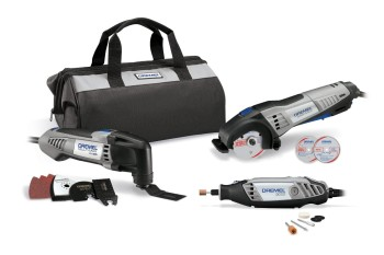 Post image for Amazon: Dremel Ultimate 3-Tool Combo Kit with 15 Accessories and Storage Bag $169.00