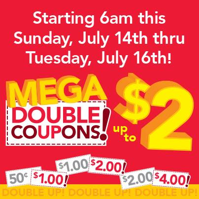 Post image for Farm Fresh Supermarkets Super Double Coupons 7/14 – 7/16