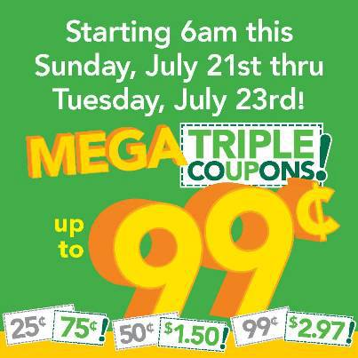 Post image for Farm Fresh: Triple Coupon Sale 7/21 – 7/23