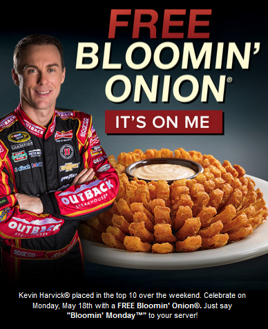 free blooming onion