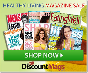 Post image for Today Only-Healthy Living Magazine Deal