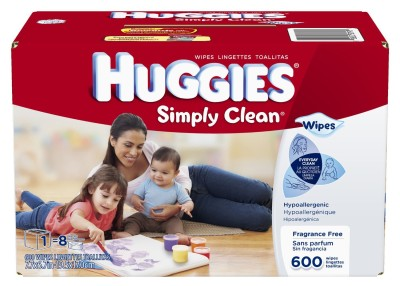 Post image for Amazon: Huggies Simply Clean Wipes $.02 Each (Stock Up Price)