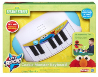Post image for Amazon-Playskool Sesame Street Let's Rock! Cookie Monster Keyboard $13.99