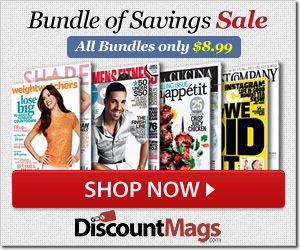Post image for Saturday and Sunday Only-Bundle Of Savings Magazine Sale