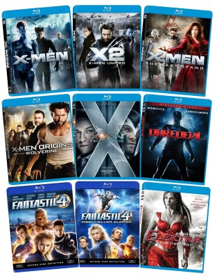 Post image for Amazon Daily Deal:70% Off Marvel X-Men Blu-Ray Bundle