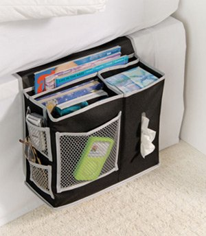 Post image for Amazon: Pocket Bedside Storage Mattress Book Remote Caddy $8.92