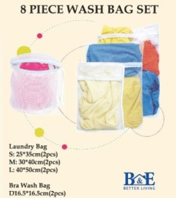 Post image for Amazon-Laundry Mesh Bags-Set of 8 Only $9.99